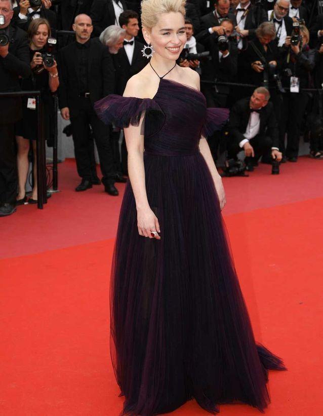 Emilia Clarke en Dior Haute Couture