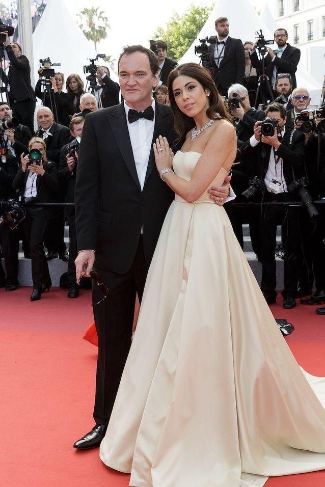 Quentin Tarantino et sa femme Daniella Pick