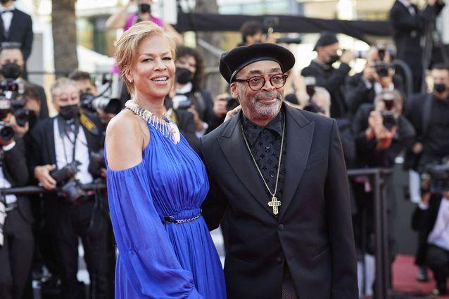Spike Lee et son épouse Tonya Lewis Lee