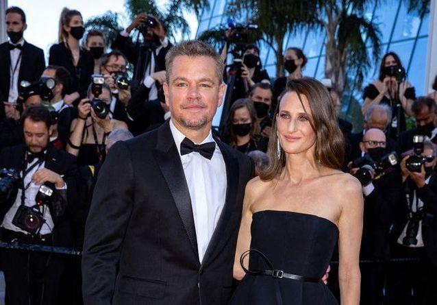 Cannes 2021 : Camille Cottin et Matt Damon, stars de la Croisette pour « Stillwater »