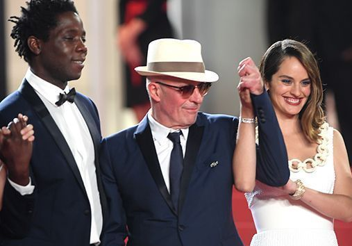 Cannes 2021 : Jacques Audiard et le casting du film « Les Olympiades », captivants face à Tilda Swinton et Mélanie Laurent
