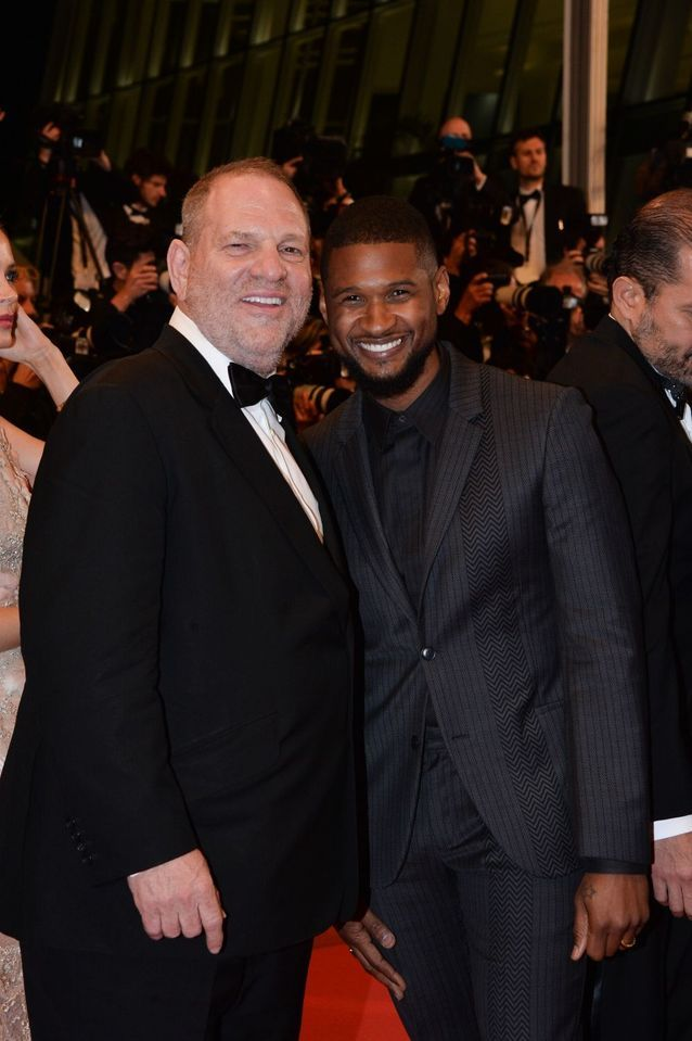 Harvey Weinsten et Usher