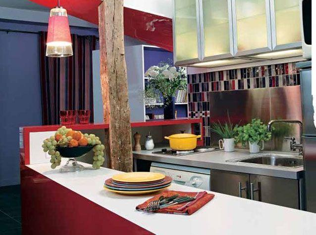 7 cuisines ouvertes bien intégrées