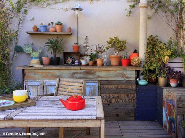 Amenager Sa Terrasse Les 8 Solutions D Art Decoration Elle Decoration