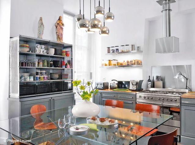 Cuisine Des Rangements Beaux Et Pratiques Elle Decoration