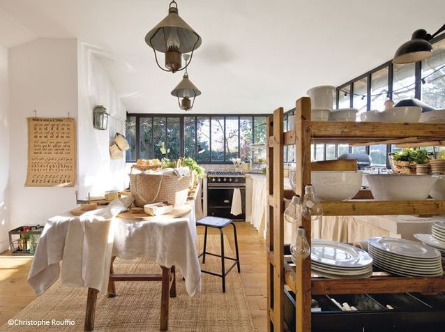 Deco campagne deco recup - Une jolie maison, entre esprit campagne ...