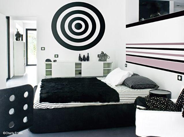 Decoration 100 Noir Et Blanc Elle Decoration