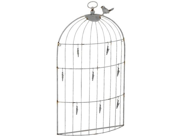 L'objet déco de l'été: la cage à oiseaux!