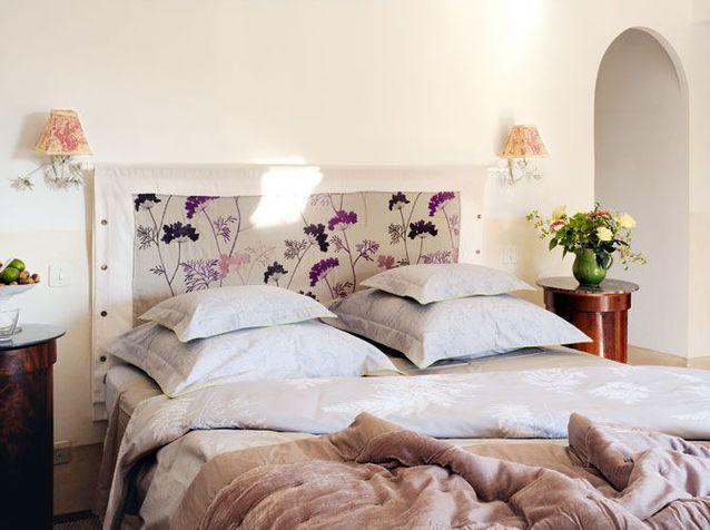Linge de lit en lin et matières naturelles - Elle Décoration