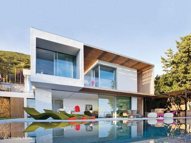 Une maison de vacances design à Saint-Tropez