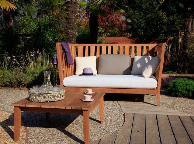 Meubles de jardin : le confort avant tout - Elle Décoration