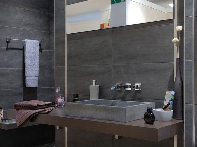 Salles de bains, le carrelage fait sensation - Elle Décoration