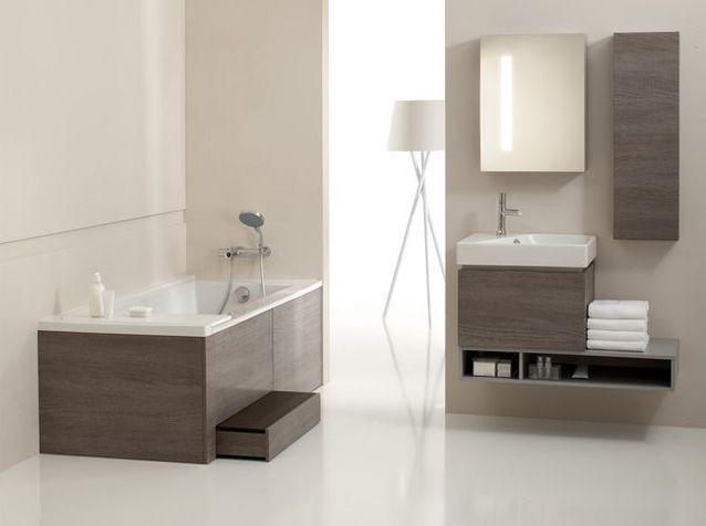 Une baignoire confortable et tendance !