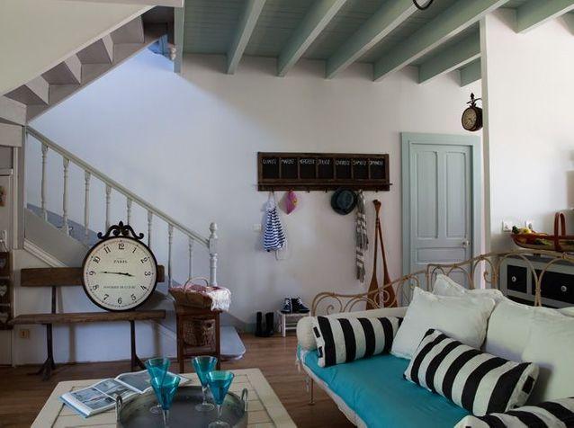 Une Maison De Vacances Fonctionnelle Elle Decoration
