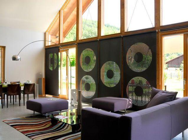 Une maison écolo très moderne