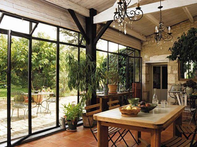 V randa chaque maison son style elle d coration - Maison avec veranda integree ...