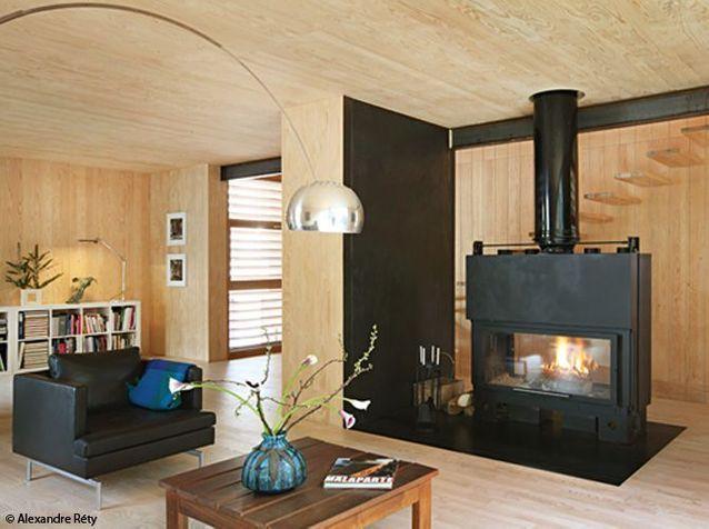 Visitez cette maison 100% en bois