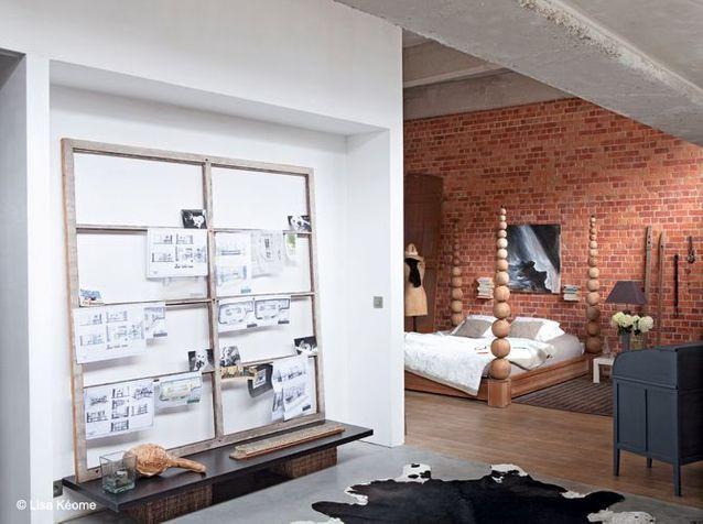 Chambre design loft