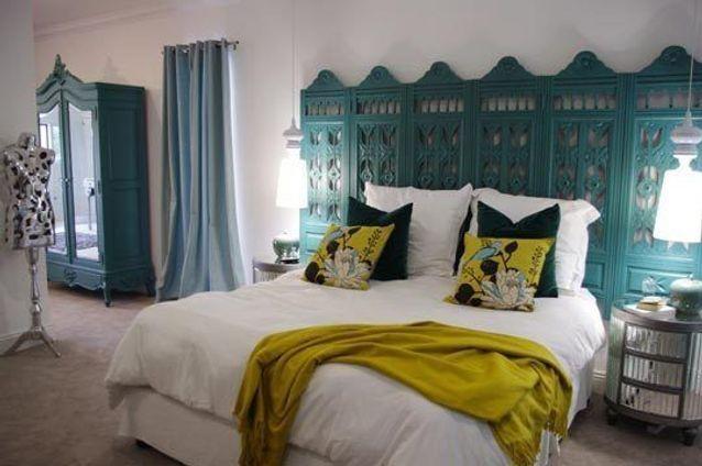 Tête de lit orientale - Elle Décoration