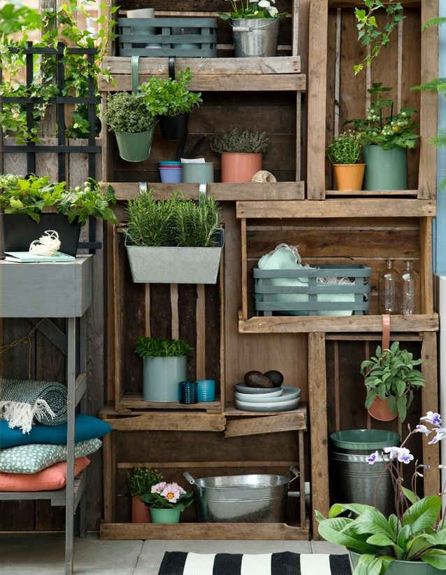 20 Idees Pour Amenager Un Petit Balcon Elle Decoration