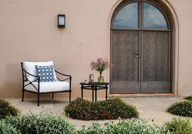 Des fauteuils outdoor design et confortables