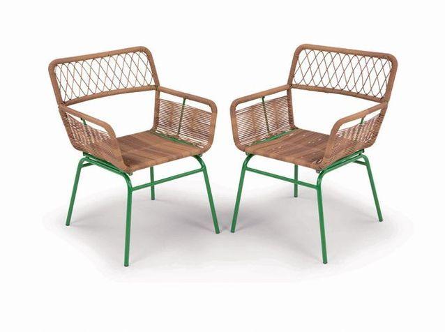 20 chaises de jardin pour profiter du soleil - Elle Décoration