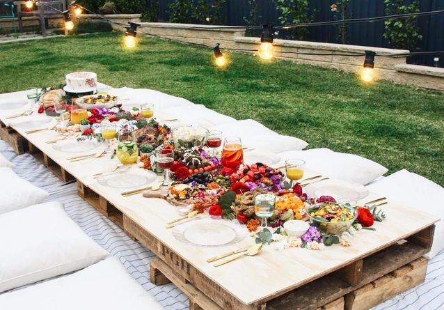 30 Idees Deco Pour Une Garden Party Canon Elle Decoration