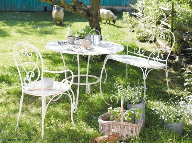 Best Table De Jardin Ronde Retro Contemporary - House Design ...