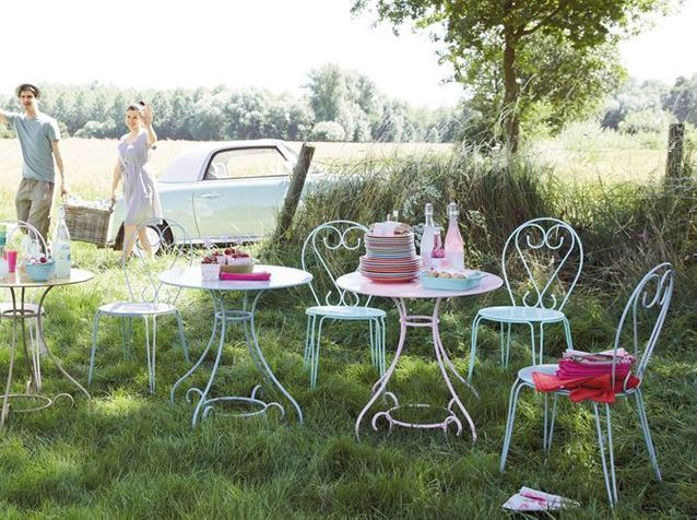 Best Petite Table Jardin Fer Couleur Photos - House Design ...