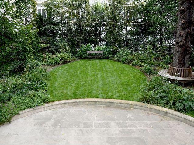 Amenagement jardin parisien