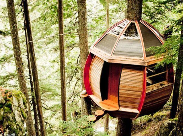 Les cabanes les plus incroyables du monde !