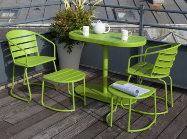 Meubles de jardin : craquez pour notre sélection colorée ...
