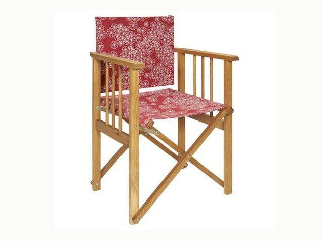 Gain de place, les meubles de jardin pliables - Elle Décoration