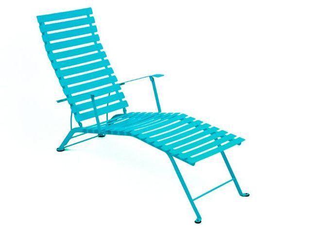 Chaise longue jardin bhv