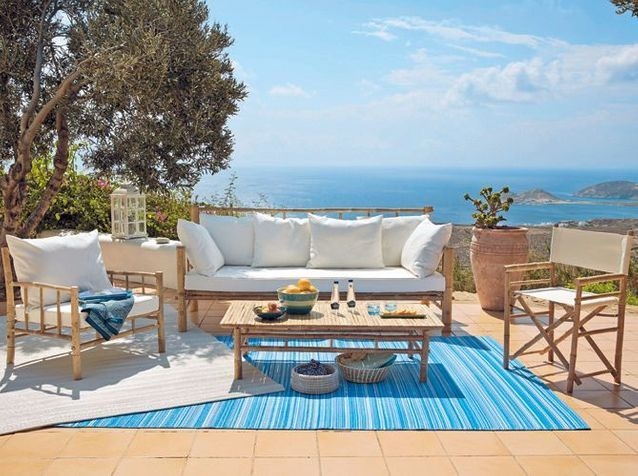 Un tapis outdoor