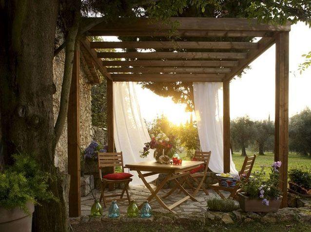 Pergolas et gloriettes : l'architecture au jardin