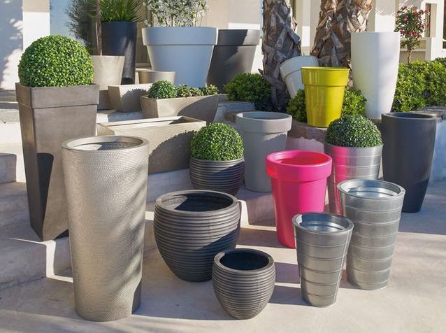Pots Et Jardinieres Habillent La Terrasse Et Le Jardin