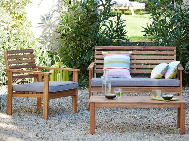 Salon de jardin colore - Un salon de jardin canon sans casser sa ...