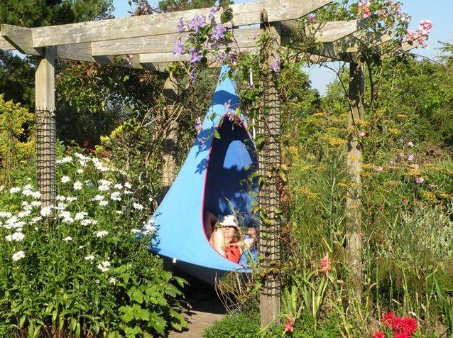 La sieste au jardin, ça fait du bien ! - Elle Décoration