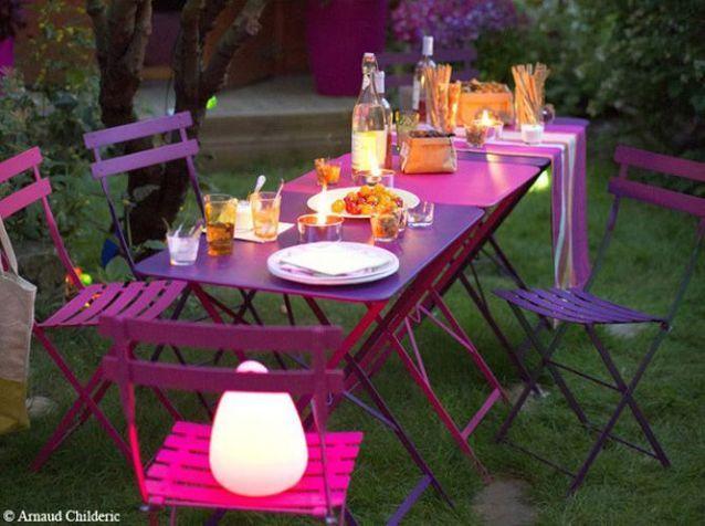Choisissez votre table de jardin ! - Elle Décoration