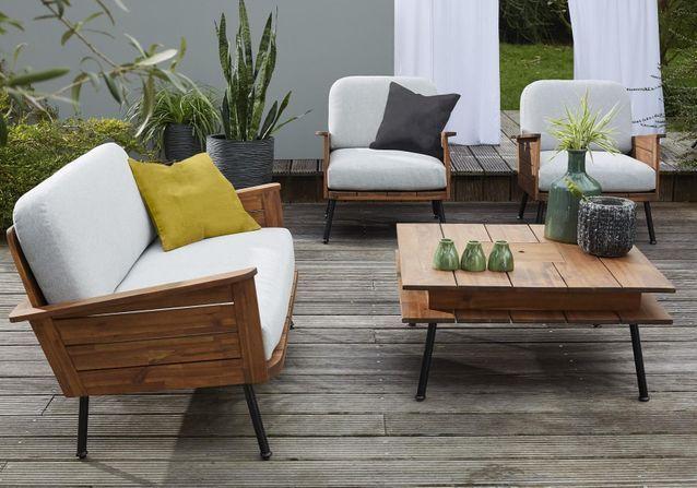 Salon de jardin design : notre sélection canon pour tous les ...