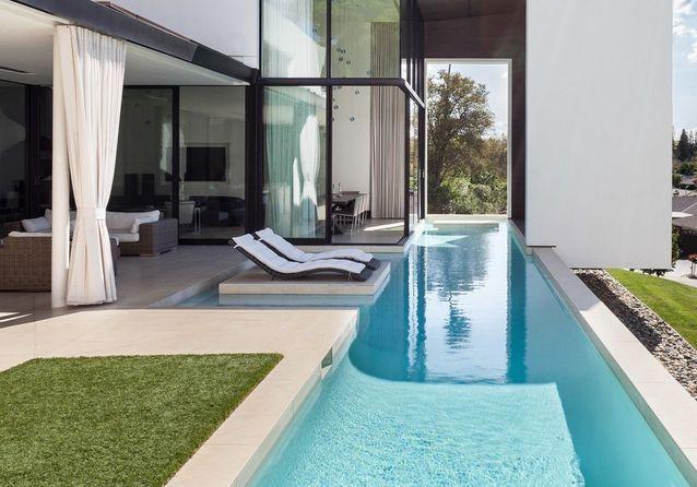 15 piscines design pour s\'évader (et rêver farniente) - Elle Décoration