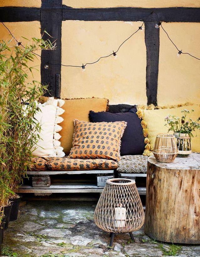55 id es d co pour s 39 am nager une terrasse canon elle d coration. Black Bedroom Furniture Sets. Home Design Ideas