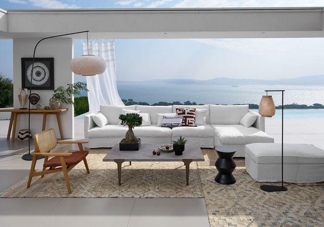 Un salon d'été entre terre et ciel