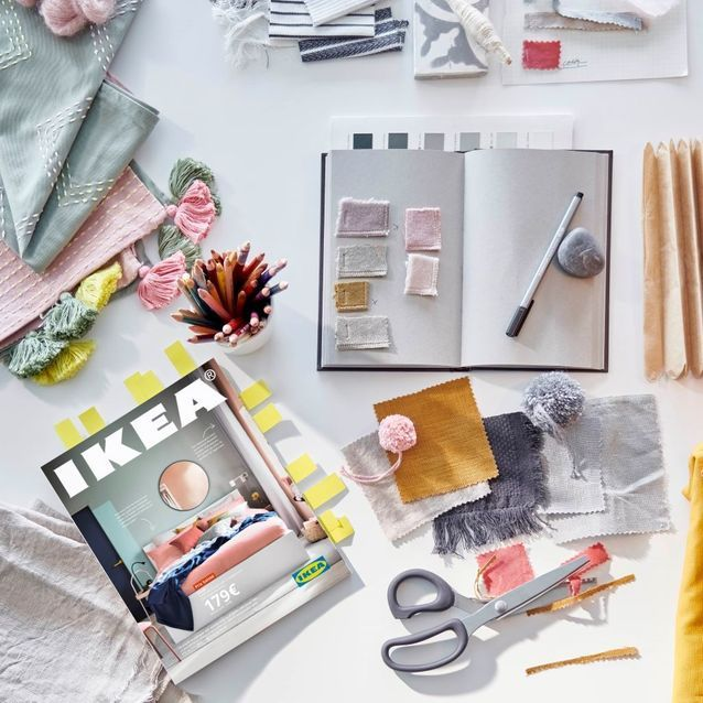 La couverture du catalogue Ikea 2021