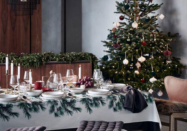 Glamour et tradition pour la collection de Noël de H&M Home