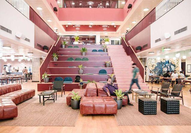 Coworking : quand WeWork réinvente des espaces en lieux de travail singuliers