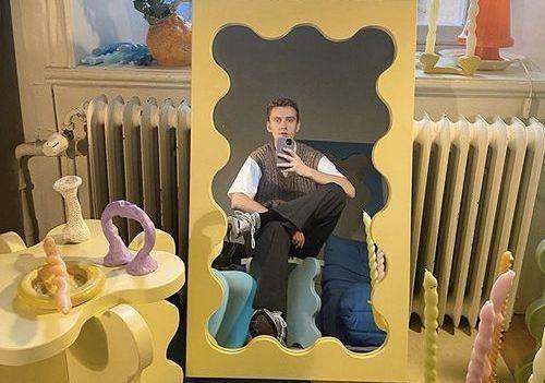 Curvy mirror : le nouveau phénomène pop et cool de la déco