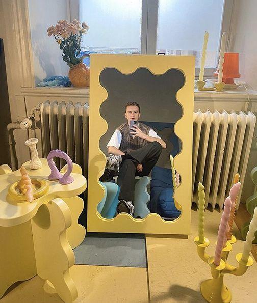Gustaf Westman, l'homme derrière le curvy mirror