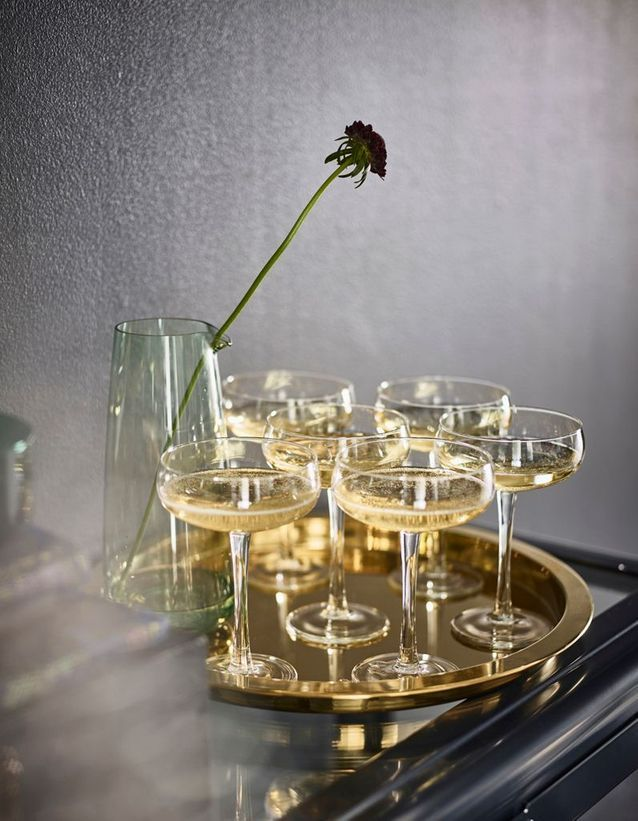 Coupe à champagne Ikea